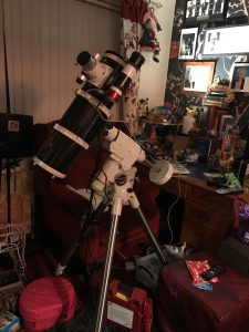 skywatcher 150pds, heq5pro and zwo asi 120 mc-s